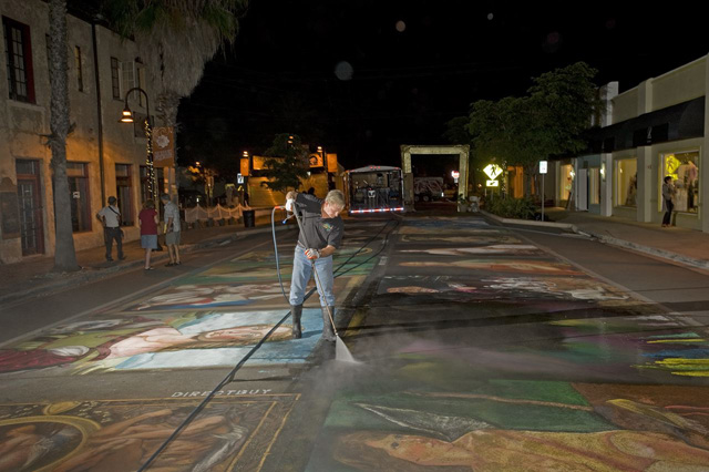 Power Washing Is The Best For Community Sidewalks Cleaning