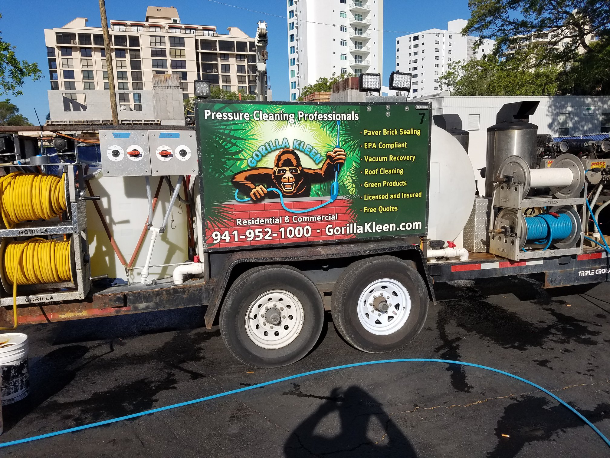 Lakewood Ranch Concrete Cleaning