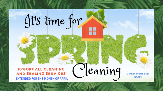 10% Off all Cleaning & Sealing Services