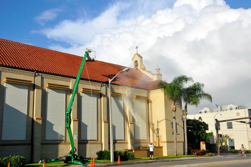 Sarasota Church Pressure Cleaning
